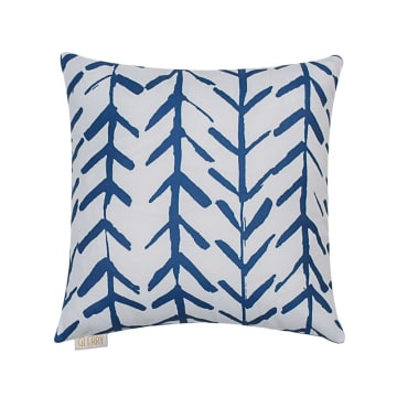 GLERRY HOME DECOR BANTAL SOFA BLUE ARROW 40X40 CM_1