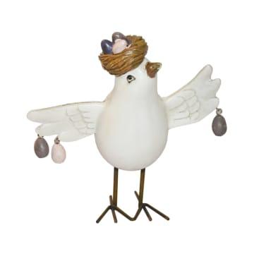 MINIATUR DEKORASI BIRD 23-1 12.1X10.3X12.3 CM_1