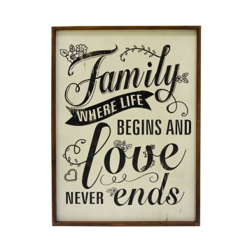 HIASAN DINDING FAMILY LOVE 74.5X53.3X2.5 CM_1