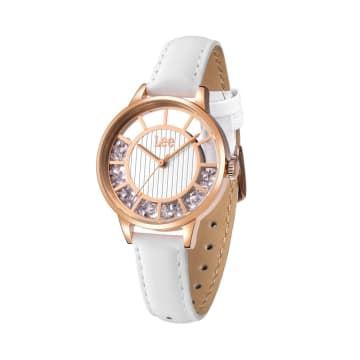 LEE WATCH LEF-F17DRL7-7R JAM TANGAN WANITA LEATHER STRAP_1