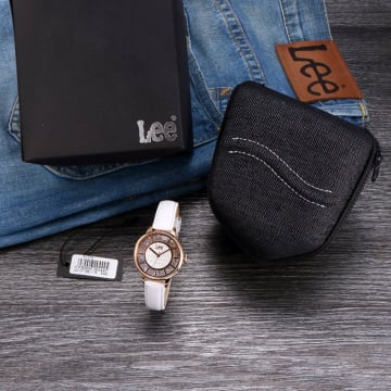 LEE WATCH LEF-F17DRL7-7R JAM TANGAN WANITA LEATHER STRAP_5