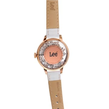 LEE WATCH LEF-F17DRL7-7R JAM TANGAN WANITA LEATHER STRAP_4