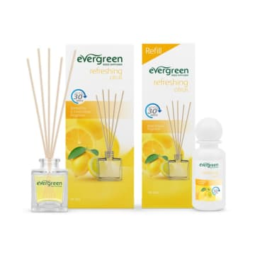 EVERGREEN SET AND REFILL REFRESHING CITRUS DIFFUSER 30 ML_1