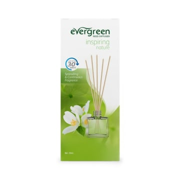 EVERGREEN INSPIRING NATURE AROMATERAPI REED DIFFUSER SET 30 ML_1