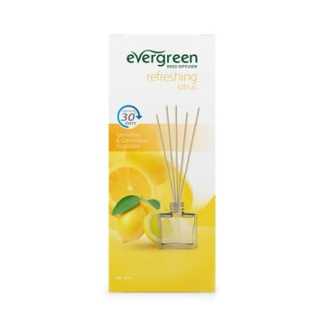 EVERGREEN REFRESHING CITRUS AROMATERAPI REED DIFFUSER SET 30 ML_1