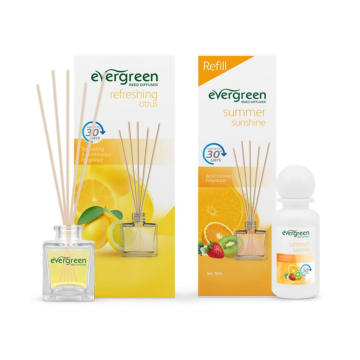 EVERGREEN SET REFRESHING CITRUS & REFILL SUMMER SUNSHINE_1