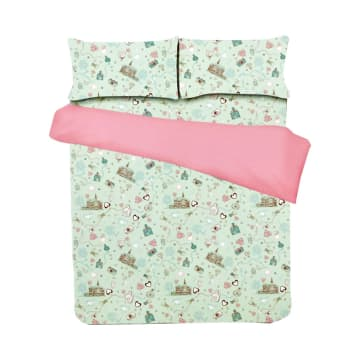 BED COVER HOME - AQUA_1