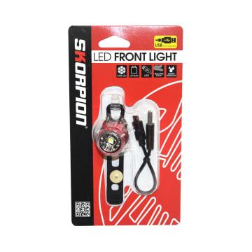 SKORPION LAMPU DEPAN SEPEDA LED USB AFL-281_1