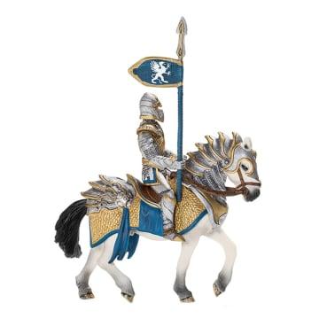 SCHLEICH MINIATUR ELDRADOR GRIFFIN KNIGHT ON HORSE WITH LANCE_1