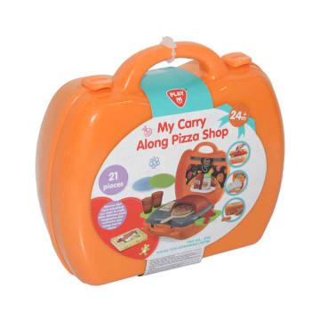 PLAYGO MY CARRY ALONG PIZZA SHOP 21 PCS_1