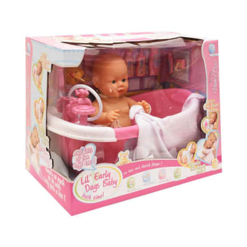 LITTLE GIGGLES BONEKA BAYI CUDDLE BABY BATH 15338_2