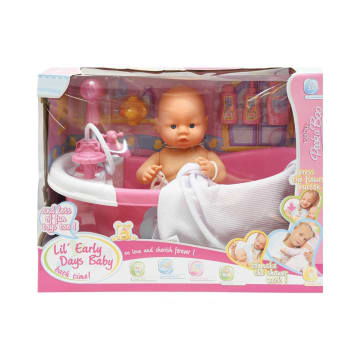 LITTLE GIGGLES BONEKA BAYI CUDDLE BABY BATH 15338_1