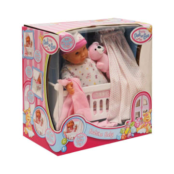 LITTLE GIGGLES BONEKA BAYI EARLY DAY BED ACT 09240_2