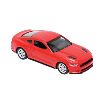 CRUZER PULL BACK DIECAST MOBIL FORD MUSTANG SD895-54A_1