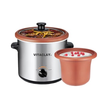 VITACLAY SLOW COOKER & YOGURT MAKER 2 LTR_1