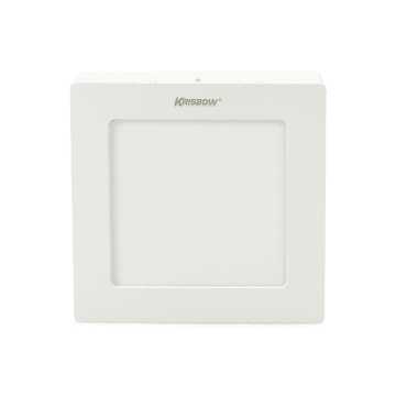 KRISBOW LAMPU DOWNLIGHT PERSEGI LED 6W 400 LM - WARM WHITE_1