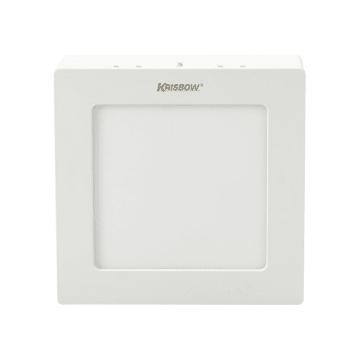 KRISBOW LAMPU DOWNLIGHT PERSEGI LED 6W 400 LM - COOL DAYLIGHT_1