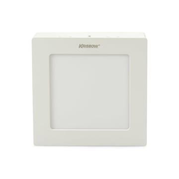 KRISBOW LAMPU DOWNLIGHT PERSEGI LED 12W 800 LM - WARM WHITE_1