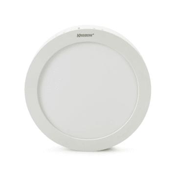 KRISBOW LAMPU DOWNLIGHT BULAT LED 12W 800 LM - WARM WHITE_1
