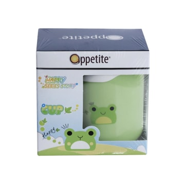 APPETITE CANGKIR BABY FROG 280 ML - HIJAU_1