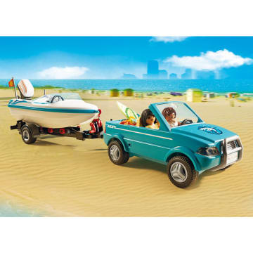 PLAYMOBIL SURFER PICKUP WITH SPEEDBOAT_3