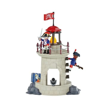 PLAYMOBIL SOLDIER TOWER WITH BEACON_3