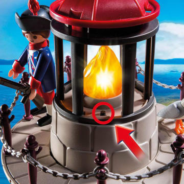 PLAYMOBIL SOLDIER TOWER WITH BEACON_5