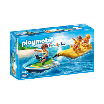 PLAYMOBIL PERSONAL WATERCRAFT WITH BANANA BOAT_1