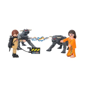 PLAYMOBIL GHOSTBUSTERS GOZER WITH DEMON_2