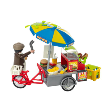 PLAYMOBIL GHOSTBUSTERS SLIMER WITH HOTDOG STAND_4