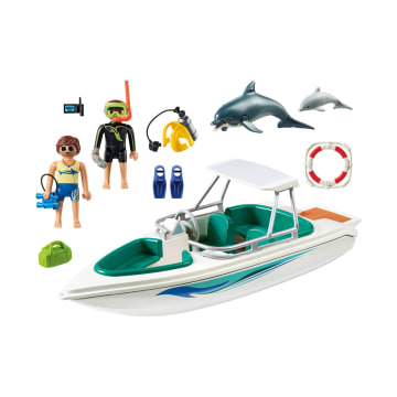 PLAYMOBIL DIVING TRIP WITH SPEEDBOAT_2