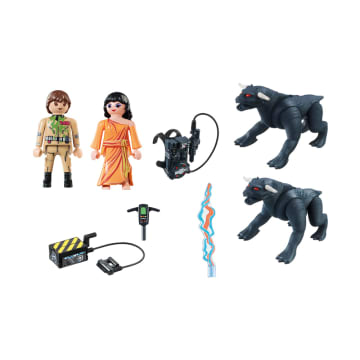 PLAYMOBIL GHOSTBUSTERS GOZER WITH DEMON_4