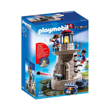 PLAYMOBIL SOLDIER TOWER WITH BEACON_1