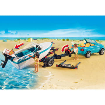 PLAYMOBIL SURFER PICKUP WITH SPEEDBOAT_4