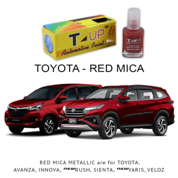 T-UP CAT OLES PENGHILANG GORESAN & BARET (DEEP SCRATCH) TOYOTA - RED MICA MET_1