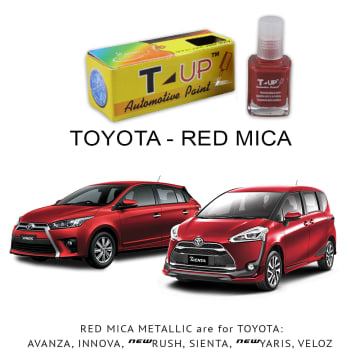T-UP CAT OLES PENGHILANG GORESAN & BARET (DEEP SCRATCH) TOYOTA - RED MICA MET_2