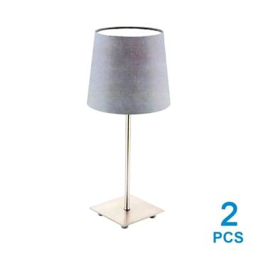 EGLO LAURITZ SET LAMPU MEJA 2 PCS - ANTHRACITE_1