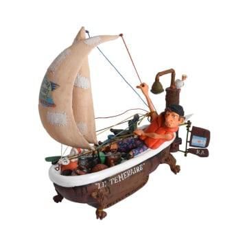 FUJIMA MINIATUR DEKORASI SHIP AHOY 27.5 CM_1