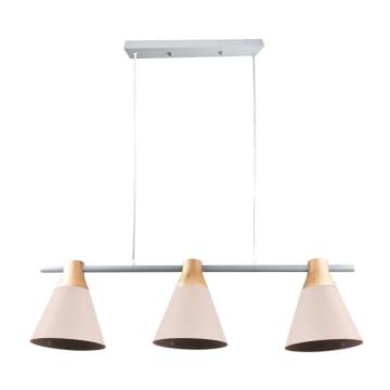 EGLARE LAMPU GANTUNG HIAS PASTEL 3L E27 - PINK_1