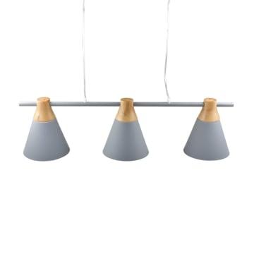 EGLARE LAMPU GANTUNG HIAS PASTEL 3L E27 - ABU-ABU_2