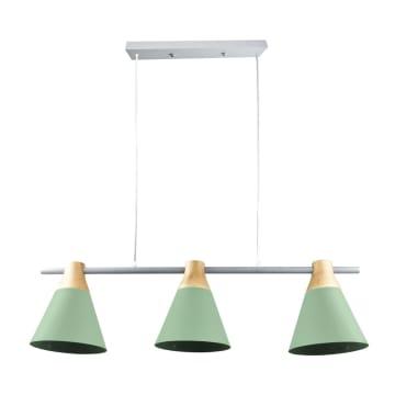 EGLARE LAMPU GANTUNG HIAS PASTEL 3L E27 - HIJAU_1