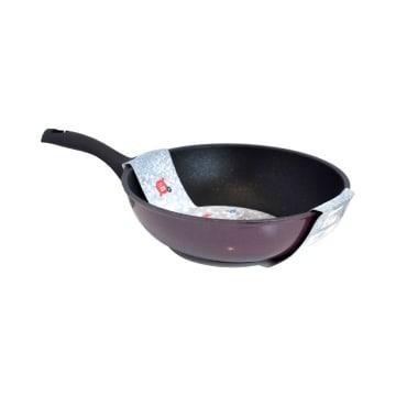 FLONAL DIAMANTE WOK PAN 28 CM - MERAH_1