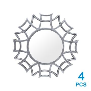 JAM DINDING SET 5 PCS DEKORASI 2911_3