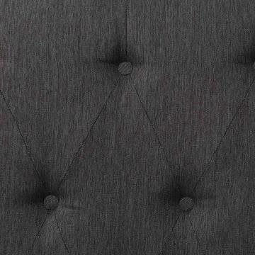 MAGNOLIA HEADBOARD TEMPAT TIDUR 160X24X135 CM - COKELAT_3