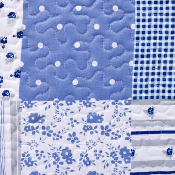 LINOTELA BED COVER NT096 240X210 CM - BIRU_2