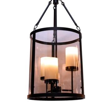 HAILEY LAMPU GANTUNG HIAS 3L - BRONZE_2