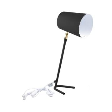 EGLARE LAMPU MEJA PASTEL E27 - HITAM_1