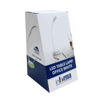 LAMPU MEJA LED OFFICE - PUTIH_5
