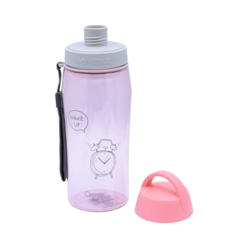 APPETITE BOTOL MINUM WAKE UP 550 ML - PINK_2
