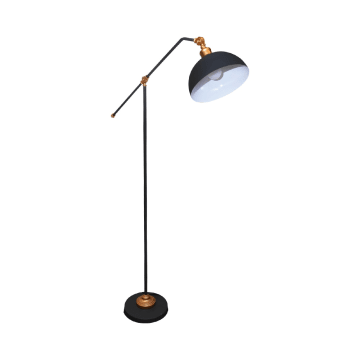GAYLE LAMPU LANTAI - HITAM_1